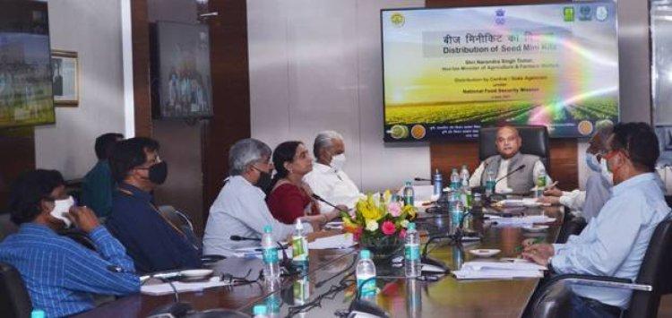 दलहन-तिलहन में आत्मनिर्भरता के लिए रोडमैप : कृषि मंत्री